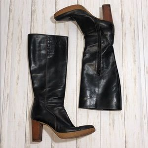 Vintage Tod's Tall Leather Boots